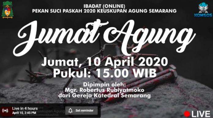 Misa Online Semarang