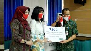 CBF bantuan masker