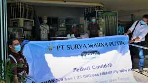 Bantuan masker PT.SWP