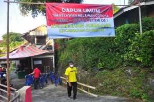 Dapur umum kelurahan Jomblang