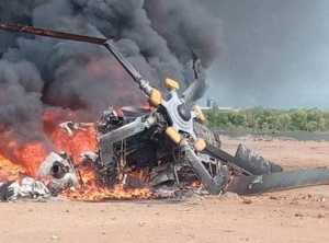 Helikopter Jatuh di Kendal
