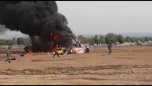 Keterangan TNI Helikopter